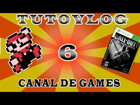 Tutovlog #6 - Como criar um canal de Games