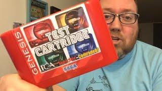 Sega Genesis TEST CARTRIDGE - RIGGS