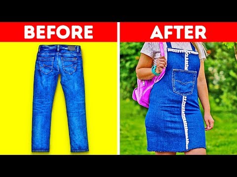 21 COOL JEANS HACKS. http://bit.ly/2zwnQ1x