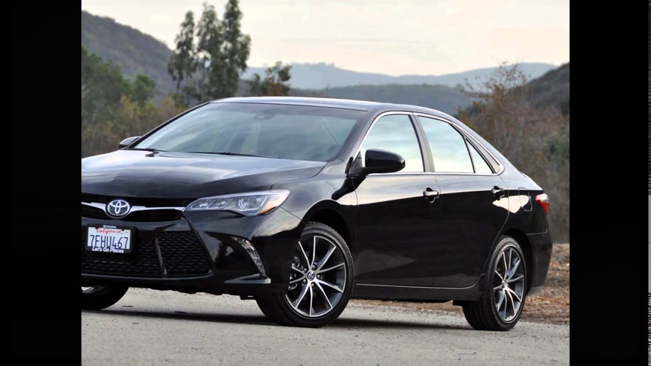 Toyota New Camry 2016 Attitude Black Mica Youtube