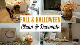 CLEAN & DECORATE WITH ME | FALL 2018 HOME DECOR | CLEANING MOTIVATION