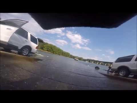 How to use a public boat ramp   Blockhouse Creek Lake Allatoona