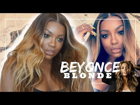 Beyonce Blonde Hair For Brown Girls DIY