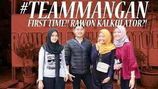 #TEAMMANGAN Tried RAWON KALKULATOR For The First Time!
