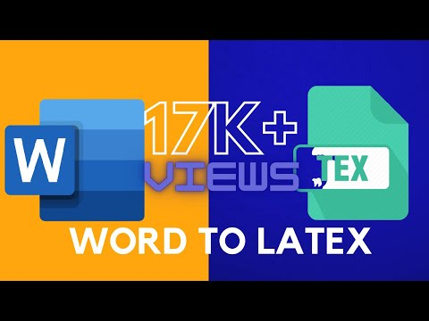Word To Latex Conversion | Pdf To Latex Document | Easily Convert