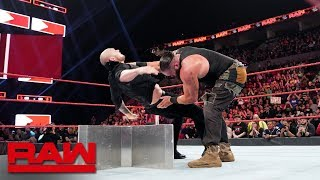 The Monster Among Men teams up with The Olympic Hero to battle The Lone Wolf and The Scottish Psychopath in a Raw tag team main event. #Raw GET ...