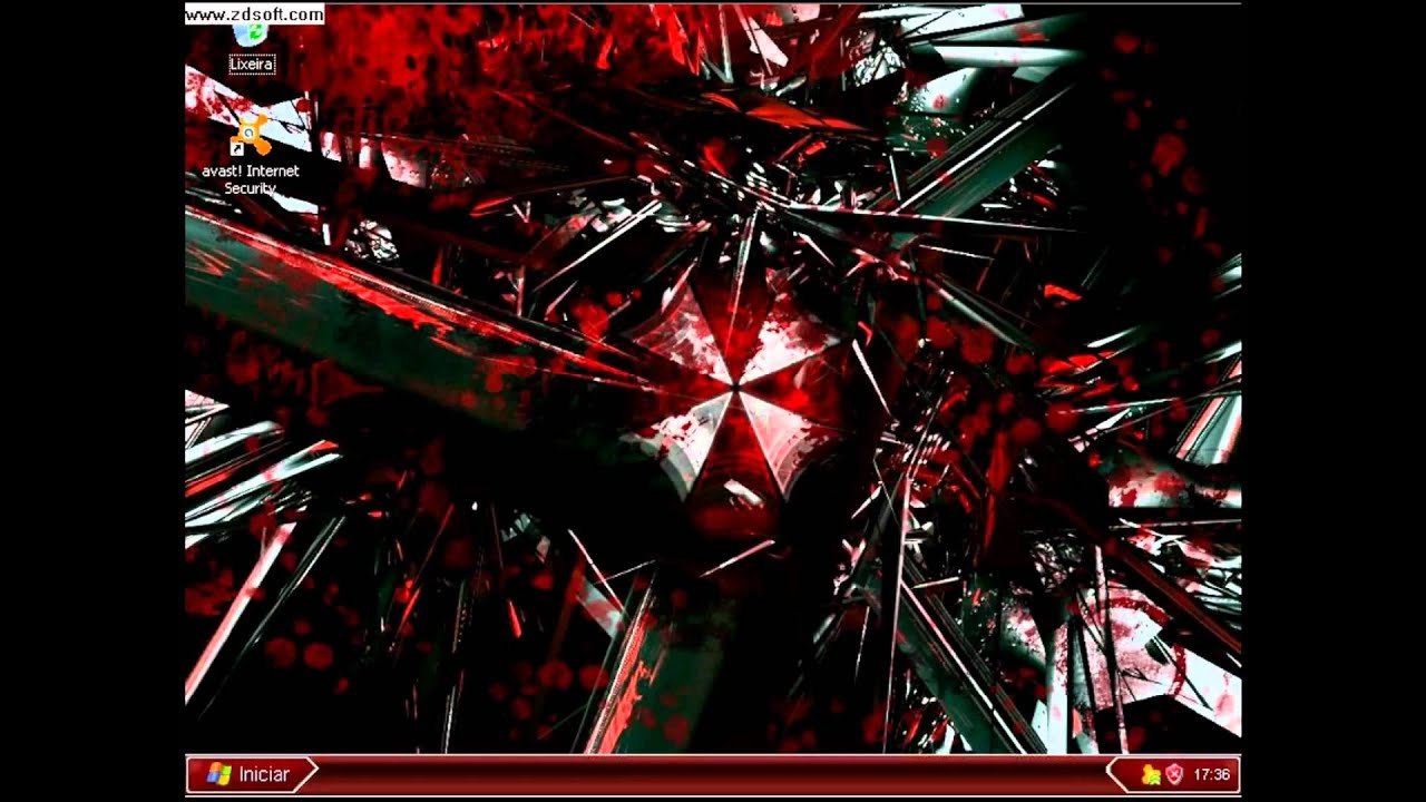 Umbrella corporation computer hd youtube umbrella corporation computer hd voltagebd Images