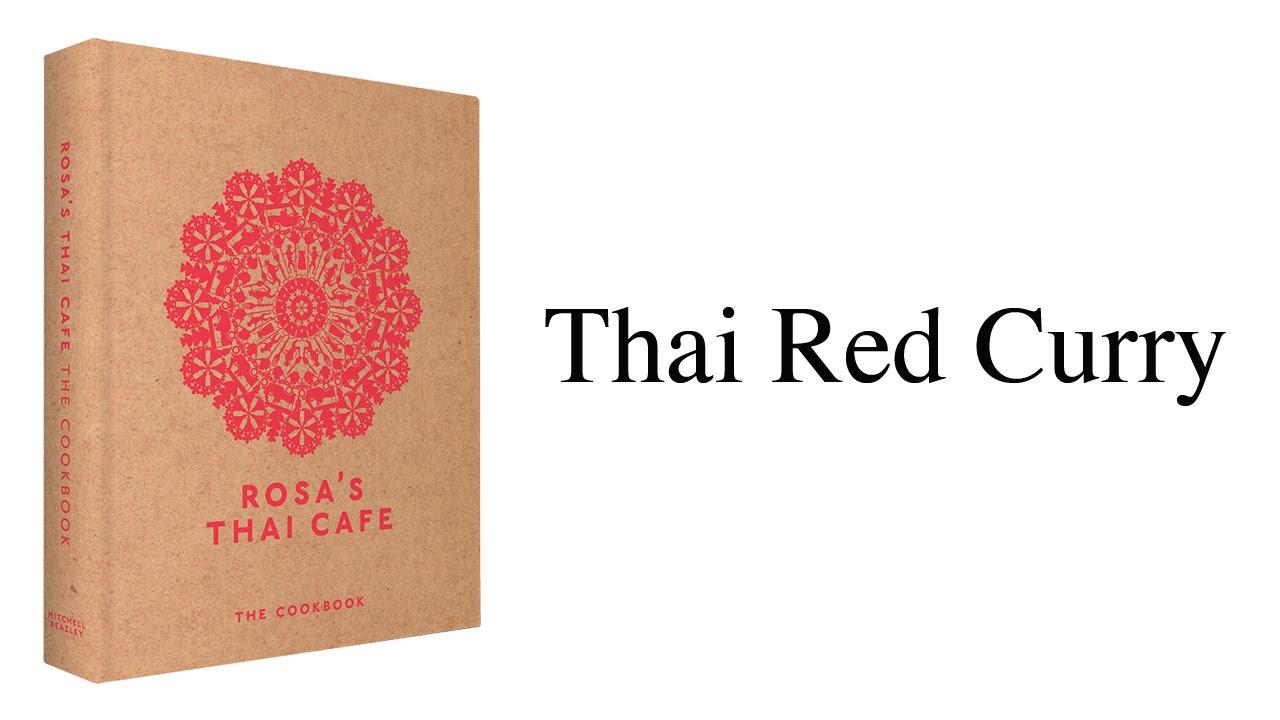 rosas thai cafe the cookbook