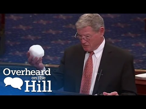 Senator Throws Snowball In Senate | Overheard On The Hill | msnbc