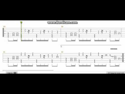 Guitar sungha jung guitar tabs : Detail for Sungha Jung tab - Long