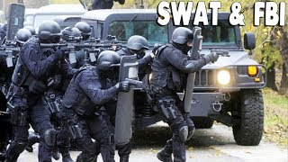 SWAT & FBI Standoff & HIGH SPEED CHASE CRASH, Fire Rescue   Emergency 4 Gameplay