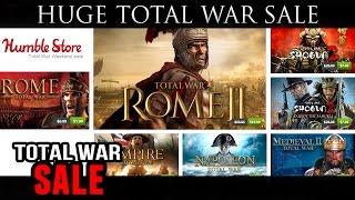 HUGE Total War Sale!!! (Humble Bundle)