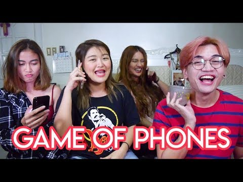 GAME OF PHONES (bukingan na!) | Arah Virtucio