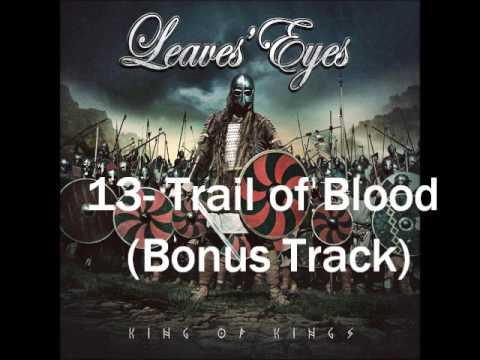 Leaves' Eyes- Trail of Blood (King of Kings Bonus Track)
