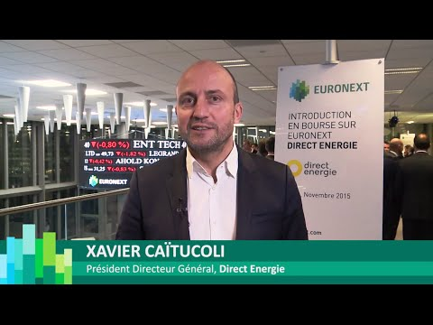 Listing on Euronext of Direct Energie