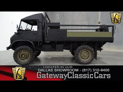 1963 Mercedes Benz Unimog 404 Stock #332 Gateway Classic Cars of Dallas