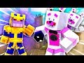 Thanos Attacks ?! | Minecraft FNAF Roleplay