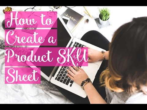 How to use a SKU system in your small business - The Handmade Mastermind