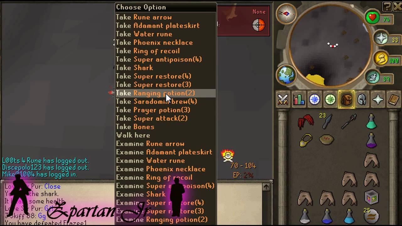 MM Pride - Zpartan Jr taking on TLP 3v1 - Good friend of mine takes on 3 TLP members at varrock dragons.