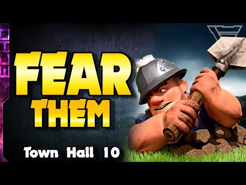 Miners Are A THREAT To Town Hall 10 In Clash