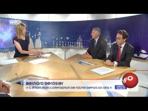 """Bernard Derosier : """"Pierre Mauroy était mon compagnon de rou"""