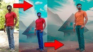 Photoshop Tutoriel | Manipulation de Photos | Rêveur Effets Photo | Un-q Khan