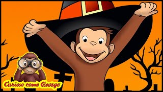 Curioso come George 🎃Speciale di HALLOWEEN - Paura del buio 🎃Cartoni Animati | George la Scimmia