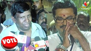 Sarath & Vadivelu Speech After Election Result: You will not Get UP from this Fall | Nadigar Sangam