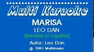 Marisa - Leo Dan (Karaoke)