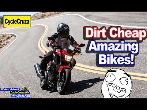 5 AMAZING Motorcycles That Are DIRT CHEAP | MotoVlog