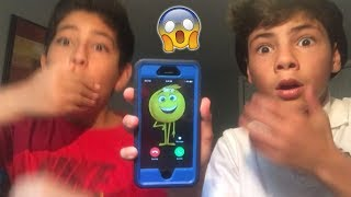 WE CALLED GENE FROM THE EMOJI MOVIE! *HE ANSWERED OMG*