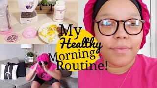 Mommy Morning Routine ! (Trying to stay focused)