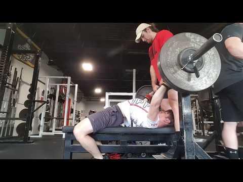 Saucy Raw Bench Training