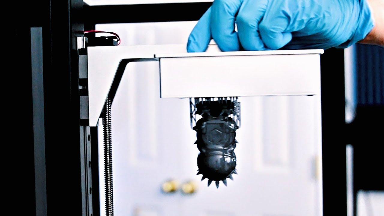 video Peopoly Moai 3D Printer
