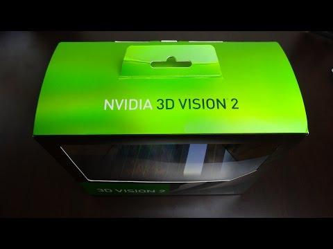 Nvidia 3D Glasses Vision v2 Unboxing