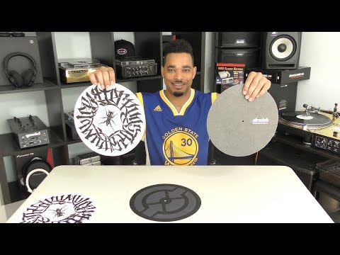 DJ Slipmats: Butter Rugs VS Dr. Suzuki Scratch