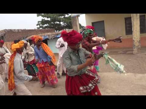 Korku dance in Holi festival