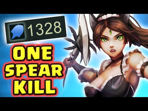 1300+ AP THE LEGENDARY ONE SPEAR KILL (33 KILLS FULL AP NIDALEE JUNGLE) - Nightblue3
