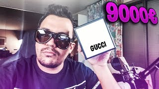 OMG MES PLUS GROS ACHAT CHEZ GUCCI 3500 EURO