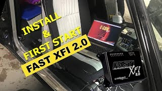 FAST XFI 2.0 and eDash Installation on my Buick Grand National