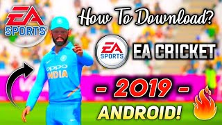 How To Download | EA Cricket 2017 For Android | EA Sports Cricket 17 In Android Best Game |in Hindi