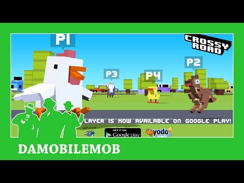 ★ CROSSY ROAD MULTIPLAYER UPDATE GOOGLE PLAY (Android Gameplay Review)