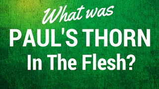 What Was Paul