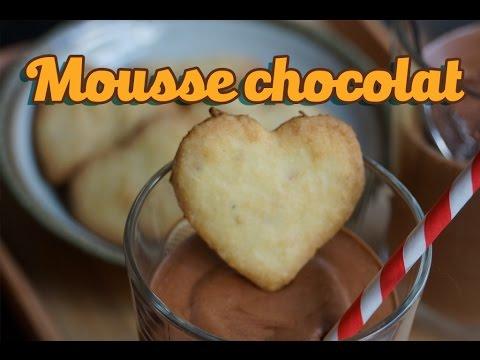recette-de-mousse-chocolat-facile-à-l'orange-et-sablés-gingembre