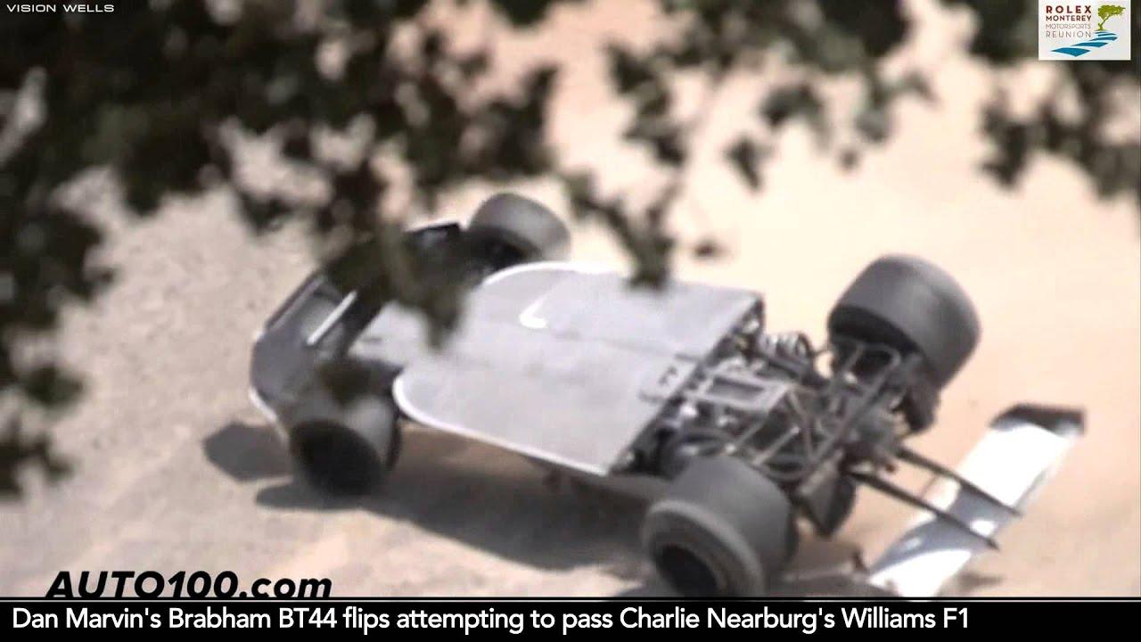 Laguna Seca Raceway >> 2013 Reunion - Rolex Race 3B Highlights - Car #22 (1979 Ensign F1)   Aug. 18, 2013 - YouTube