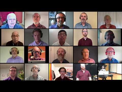 Victoria Arion Male Choir: 'Night of Silence' by Daniel Kantor 2020 Dec 22
