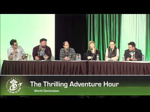 ECCC 2014:  THE THRILLING ADVENTURE HOUR: THE WORLD DOMINATION TOUR CONTINUES!
