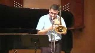 Bach Cello Suite 2 - Sarande - Trombone