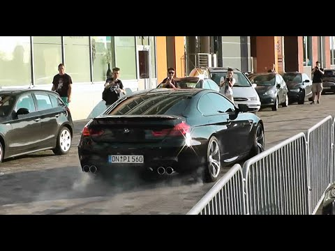 BMW M6 F13 Revs, Launch Control & Wheelspin