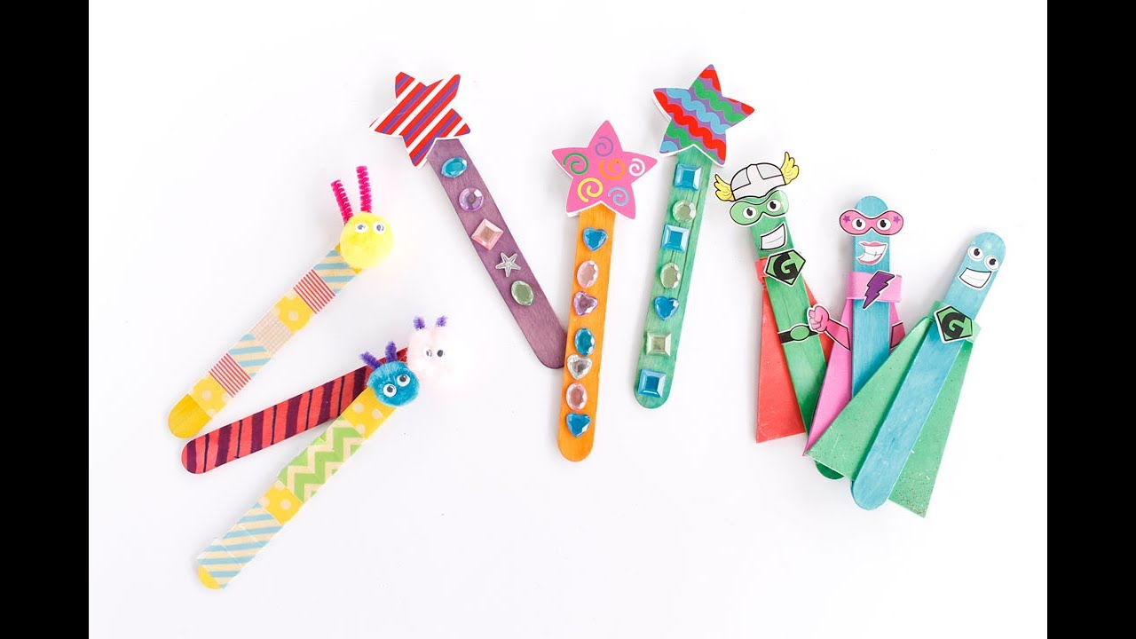 easy craft ideas for preschoolers easy popsicle stick craft ideas 6512